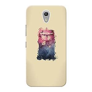 Mobile Back Cover For Lenovo ZUK Z1 (Printed Designer Case)
