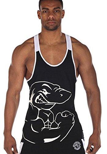 Efashionmx Mens Sexy Fitness Bodybuilding Gym Tank Tops (Medium, Black) (Gym Shark Tank Top compare prices)