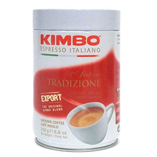 Kimbo Antica Tradizione Ground Coffee in Can 8.8oz/250g (Espresso From Italy compare prices)