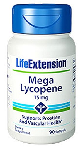 Life Extension Mega Lycopene Extract 15 Mg, 90 softgels (Lycopene Extract compare prices)