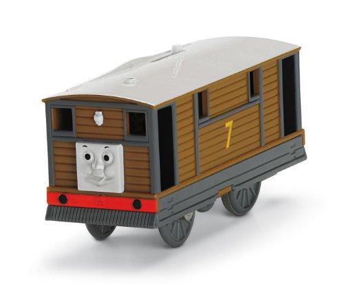 Thomas the Train - Thomas & Friends Trackmaster きかんしゃトーマスとなかまたち トビー - Toby (R9209) プラレールのレールでも走ります