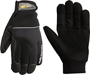 Wells Lamont 7740L Cold Weather Gloves, Synthetic Leather