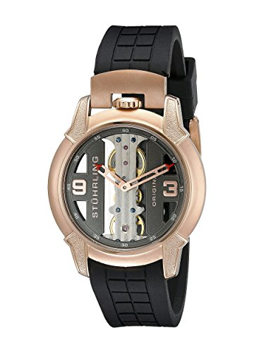 Stuhrling Original Men's 8259.334669 Leisure Gen-X Raptor Mechanical Skeleton Rose Tone Watch