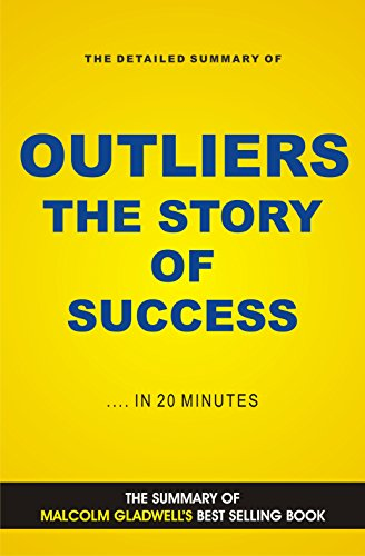 Outliers: The Story Of Success by Malcolm Gladwell Book