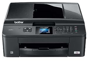 Brother MFC-J430W 4-in-1 Farbtintenstrahl-Multifunktionsgerät (Scanner, Kopierer, Fax, Drucker, USB 2.0,WLAN) schwarz