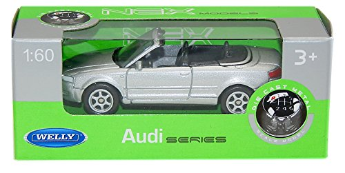 audi-a4-a-4-cabrio-cabriolet-silber-1-60-1-64-welly-modellauto-modell-auto-by-welly