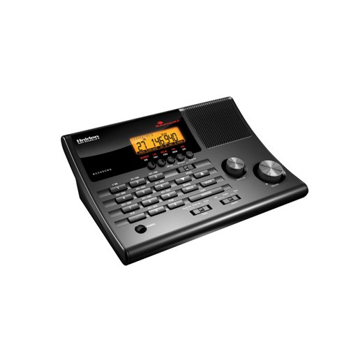 Uniden 500 Channel Clock/Radio Scanner with Weather Alert (BC345CRS)