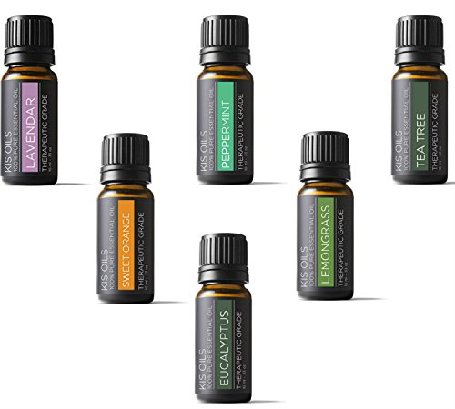 Aromatherapy-Top-6-100-Pure-Therapeutic-Grade-Basic-Sampler-Essential-Oil-Gift-Basic-sampler-essential-oil-gift-set-6-10ML-lavender-sweet-orange-peppermint-lemongrass-tea-tree-eucalyptus