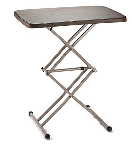 Radiat Height Adjustable Folding Table / Iron Table/ Garden Table / Study  Table   RT24TABLE
