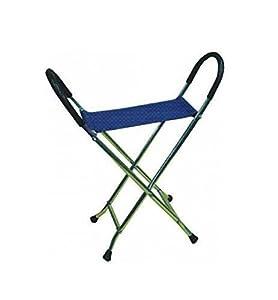 Pyramid Folding Stool Pyramid Lightweight Aluminium Chair Walking Stick/Folding Seat -
