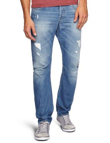 Voi Jeans Mardie Loose Men's Jeans Blue W28INxL30IN