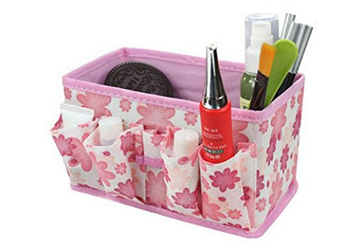 lhwy-new-makeup-cosmetic-storage-box-bag-bright-organiser-foldable-stationary-container-pink