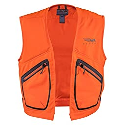 Sitka Gear Ballistic Vest Blaze Orange Medium