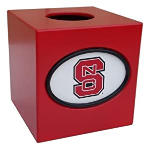Fan Creations NC State Wolfpack Tissue Box Cover