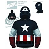 Captain America Marvel Sweatshirt Hoodie Size Adult SMALL