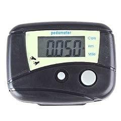 Buy BestDealUSA LCD Run Step Electronic Digital Pedometer Walking Calorie Counter Distance New by BestDealUSA