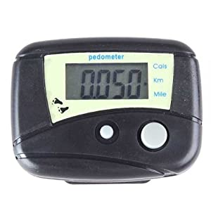 BestDealUSA LCD Run Step Electronic Digital Pedometer Walking Calorie Counter Distance New