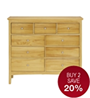 Hastings 6+3 Drawers Chest
