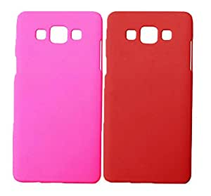 Winsome Deal Hard Back Cover Case for Samsung Galaxy A5 A500 (Pack Of 2)