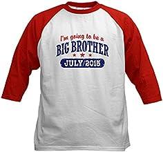 CafePress Big Brother July 2015 Kids Baseball Jersey