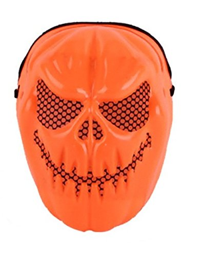 [WT trick or Treat Pumpkin Devil Mask Halloween decorations ideas (Orange Pumpkin)] (Halloween Ideas For Couples)