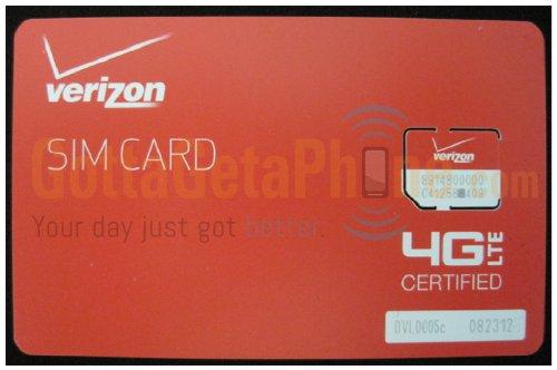 Verizon Wireless 4G LTE Certified MICRO