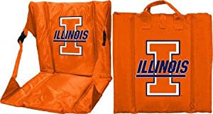 Illinois Fighting Orange Illini Stadium Seat from Logo Chairs
