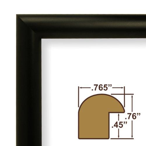 14x22 Picture Poster Frame Smooth Finish 765 Wide Matte Black fw2bk - ErnestoLPospisil