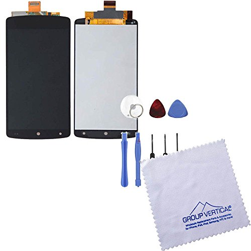 Touch Screen Digitizer + Lcd Assembly For Google Lg Nexus 5 + Tools