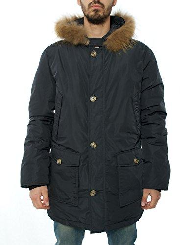 Trèz Guzz uomo, cappotto classico, grigio, X-Large EU