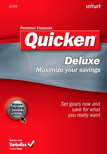 Quicken 2009 Deluxe  [OLD VERSION] [Download]