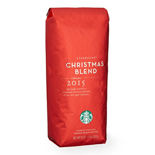 Starbucks Christmas Blend Coffee Beans 100% Arabica (1 pound bag)