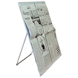 `Newspaper Stand w/Page Holder
