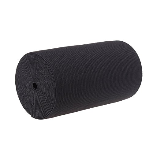 4-Inch Wide Black Heavy Knit Stretch ELASTIC 3 Yards by Prolastic (Wide Elastic For Sewing compare prices)