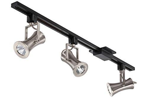 Lithonia Lighting Gavel 3-Light 44.5 In. Brushed Nickel Led Track Lighting Kit