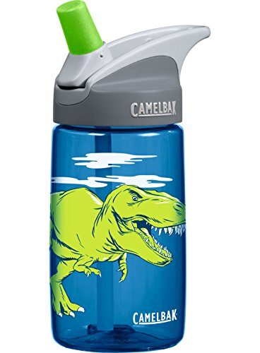Camelbak Products Kid's Eddy Water Bottle, T-Rex, 0.4-Litre