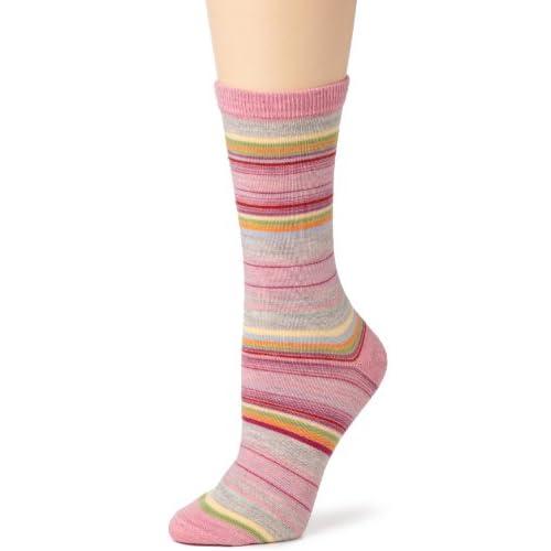Bell Socks Womens Merino Wool Blend Crew Socks by K. Bell