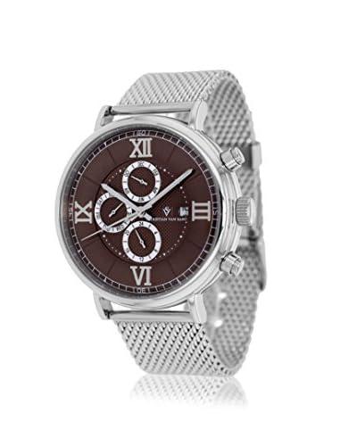 Christian Van Sant Men's CV1125 Somptueuse Brown Stainless Steel Watch