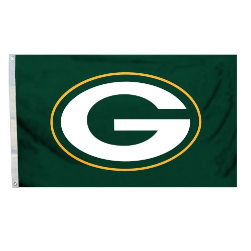 3 Ft. X 5 Ft. Flag With Grommetts Green Bay Packers 94916b 94916B