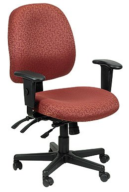 Eurotech - Fabric Custom Upholstery Chair, 4x4 498sl Burg - Color: Burgundy