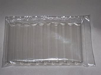 Glass Test Tubes 15 x 85 mm - Culture Tubes 10 Pack