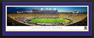 Louisiana State Tigers - Tiger Stadium - Death Valley - Framed Poster Print by Laminated Visuals