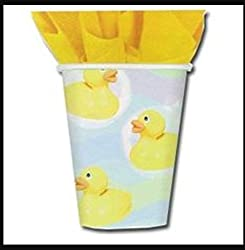 Rubber Duckie Baby Shower 9oz Paper Cups (8ct)