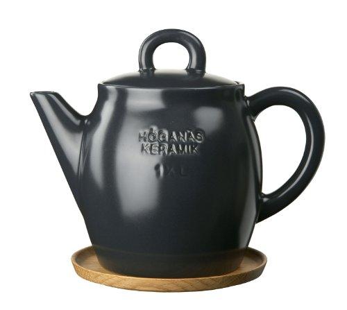 Keramik Teekanne 1.5 l, grafitgrau