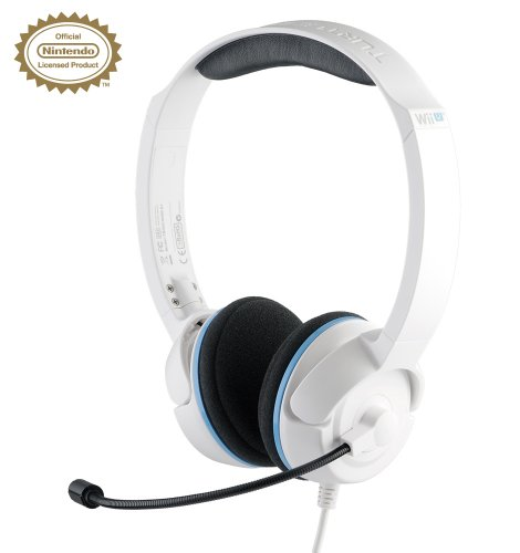 NLa Licensed Nintendo Headset - (White) - Wii U / 3DS (Nintendo 3DS)