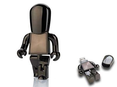 USB Metal people - Robot memory flash drive - Bronze - 4GB from Brando