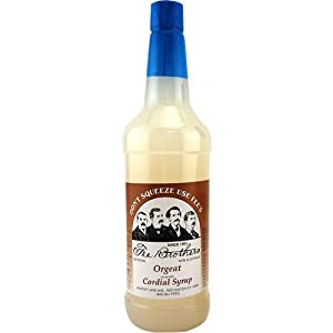 Fee Brothers Orgeat Almond Cordial Syrup: 32 oz