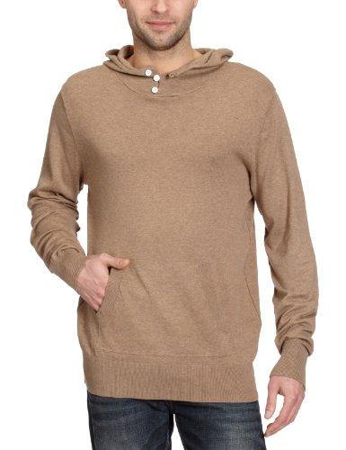 Selected Homme Jeans Adson Hood Knit Men's Jumper Marl Melange Medium