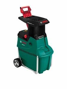 Bosch Broyeur silencieux de végétaux AXT 25 TC avec bac de ramassage 53 L et système de coupe Turbo-Cut 0600803300