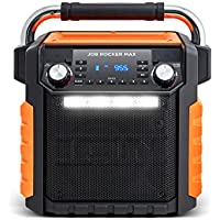 Ion iPA81OR Audio Job Rocker Max IPX4 Speaker (Black/Orange)